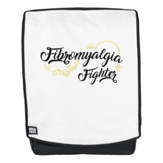 Fibromyalgia Awareness Fighter Ribbon Backpack