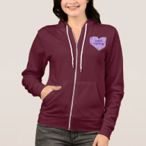Fibromyalgia Awareness Hoodie Jacket