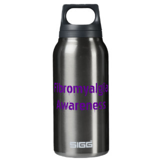 Fibromyalgia Awareness Insulated Water Bottle