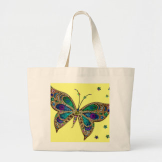 Fibromyalgia Awareness Large Tote Bag