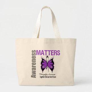 Fibromyalgia Awareness Matters Canvas Bag