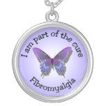 Fibromyalgia Awareness Necklace