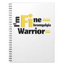 Fibromyalgia Awareness Notebook