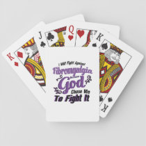 Fibromyalgia Awareness Playing Cards