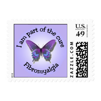 Fibromyalgia Awareness postage stamps