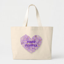 Fibromyalgia Awareness Products Large Tote Bag