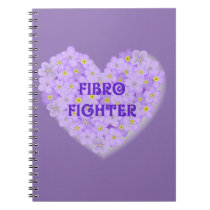 Fibromyalgia Awareness Products Notebook