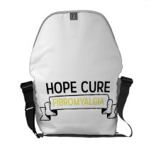 Fibromyalgia Awareness Purple Color Courier Bag