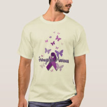 Fibromyalgia Awareness (ribbon & butterflies) T-Shirt