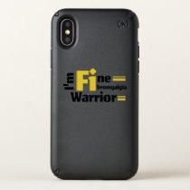 Fibromyalgia Awareness Speck iPhone X Case