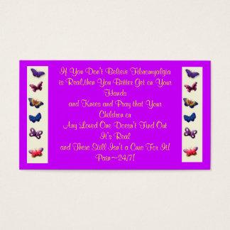 Fibromyalgia Awareness/Statement Cards