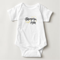 Fibromyalgia Awareness Symptoms Baby Bodysuit