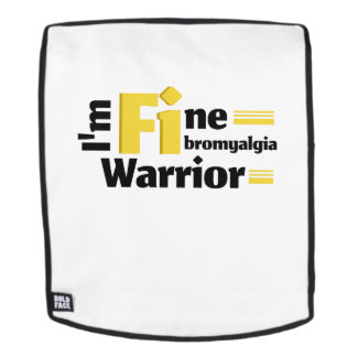 Fibromyalgia Awareness Symptoms Backpack