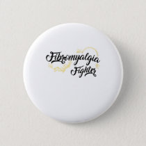 Fibromyalgia Awareness Symptoms Button