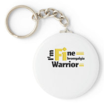 Fibromyalgia Awareness Symptoms Keychain