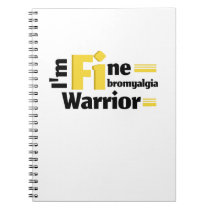 Fibromyalgia Awareness Symptoms Notebook