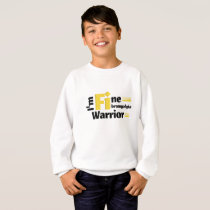 Fibromyalgia Awareness Symptoms Sweatshirt