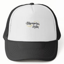 Fibromyalgia Awareness Symptoms Trucker Hat