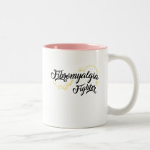 Fibromyalgia Awareness Symptoms Two-Tone Coffee Mug