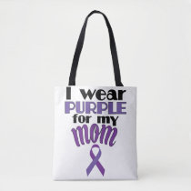 Fibromyalgia Awareness Tote for Son Daughter Mom