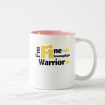 Fibromyalgia Awareness Two-Tone Coffee Mug