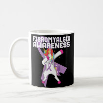Fibromyalgia Awareness Unicorn Coffee Mug May 12