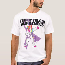 Fibromyalgia Awareness Unicorn Shirt Fibro Day