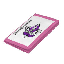 Fibromyalgia Awareness Wallet