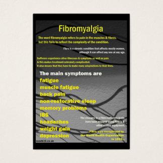 Fibromyalgia business card - awareness day