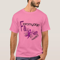 Fibromyalgia BUTTERFLY 3 T-Shirt
