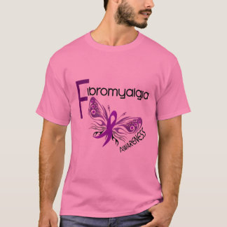 Fibromyalgia BUTTERFLY 3 T-Shirt