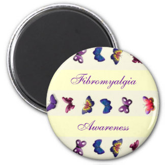 Fibromyalgia/Butterfly Magnet