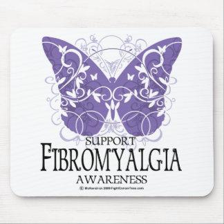 Fibromyalgia Butterfly Mousepad