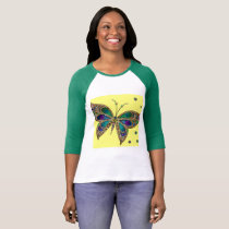 Fibromyalgia Butterfly Shirt For Women