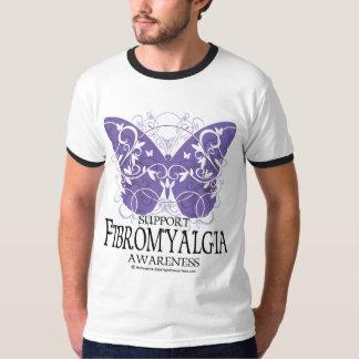 Fibromyalgia Butterfly Tee Shirt