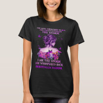 fibromyalgia butterfly warrior i am the storm T-Shirt