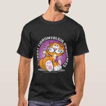 Fibromyalgia Cat T-Shirt