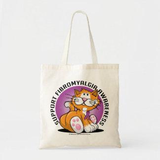 Fibromyalgia Cat Tote Bag