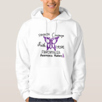 Fibromyalgia Celtic Butterfly 3 Hoodie
