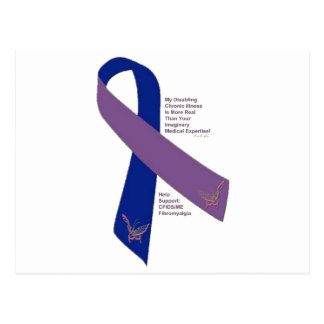 FIBROMYALGIA ~ CFS SUPPORT.png Postcard