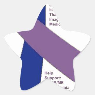 FIBROMYALGIA ~ CFS SUPPORT.png Star Sticker