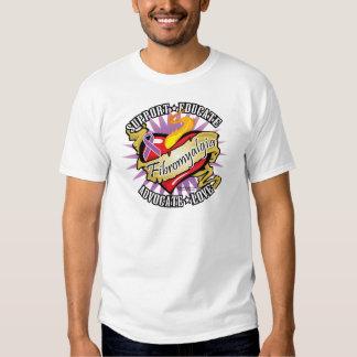 Fibromyalgia Classic Heart Shirt