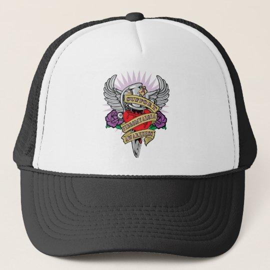 Fibromyalgia Dagger Trucker Hat