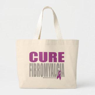 Fibromyalgia de la curación bolsa tela grande