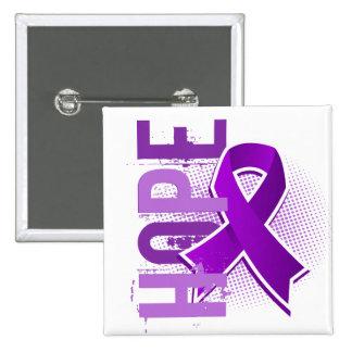 Fibromyalgia de la esperanza 2 pin cuadrado