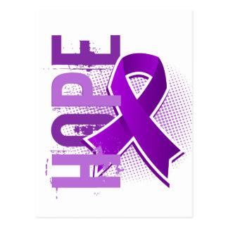 Fibromyalgia de la esperanza 2 tarjeta postal