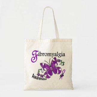 Fibromyalgia de la mariposa 2 del vitral bolsa
