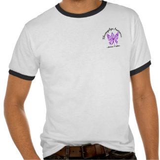 Fibromyalgia de la mariposa 6,1 del tatuaje del Gr Camisetas