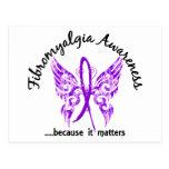 Fibromyalgia de la mariposa 6,1 del tatuaje del Gr Postales