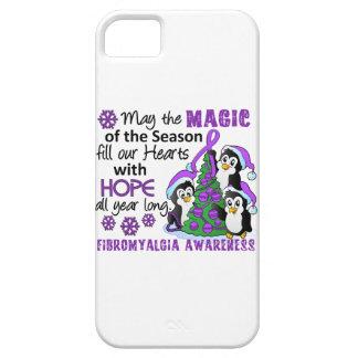 Fibromyalgia de los pingüinos del navidad iPhone 5 carcasas
